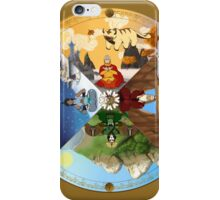 The Cycle of the Seasons iPhone Case/Skin