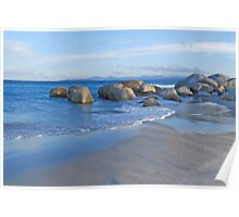 Late Afternoon at Beer Barrel Beach Poster