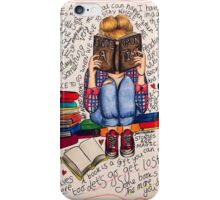 Reading is Dreaming with Open Eyes. iPhone Case/Skin