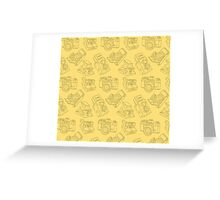 Photography Pattern Greeting Card