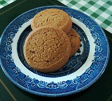 Nice things come in threes - Ginger Biscuits by BlueMoonRose