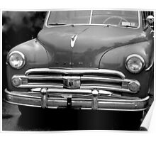 1959 Dodge front-B & W Poster