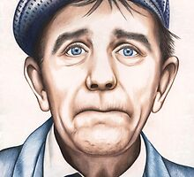Sir Norman Wisdom OBE by Margaret Sanderson
