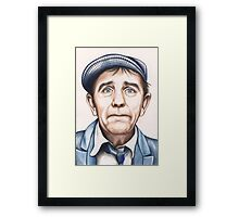 Sir Norman Wisdom OBE Framed Print