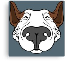 EBT Dog Grin Canvas Print