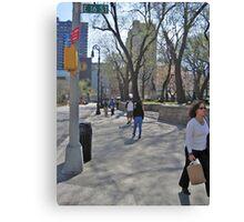 East 16th Street & Union Square Canvas Print
