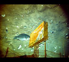 Fish And Billboard by Jamie Mellor