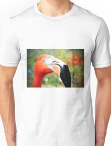 Flamingo Face Unisex T-Shirt