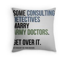 Some Consulting Detectives... Throw Pillow
