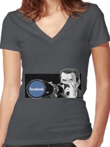 The Real Rear Window Women's Fitted V-Neck T-Shirt