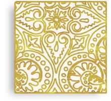 Dulce Gold Canvas Print