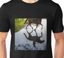 Horse Crossing Unisex T-Shirt