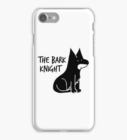 The Bark Knight iPhone Case/Skin