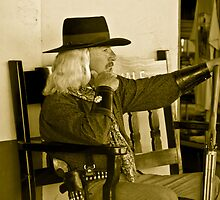 Old Time Cowboy by Terry Runion
