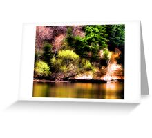 Reflections Off the Lake Greeting Card