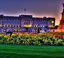 Buckingham Palace by G. Brennan