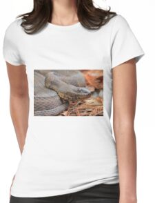 Water Snake Womens Fitted T-Shirt