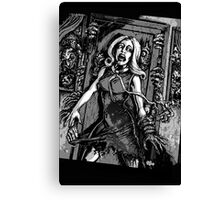 House of Zombies Canvas Print