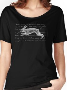 Alice in Wonderland - How Long is Forever? Women's Relaxed Fit T-Shirt