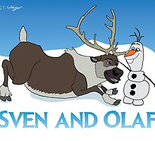 Sven and Olaf by Lindsay Spillsbury