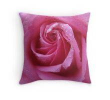 Delectable Rose Throw Pillow