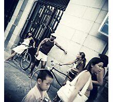 streets of madrid Photographic Print