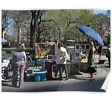 Art for sale in Union Square Poster