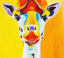 Giraffe by PaintingPets