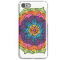Mandala Drawing #1 Original Design by TAM iPhone Case/Skin