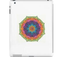 Mandala Drawing #1 Original Design by TAM iPad Case/Skin