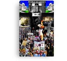 Anti IMF  Canvas Print