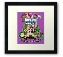 It's a Small Jurassic World (1A) Framed Print