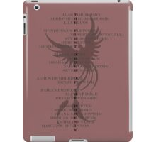 First Order of the Phoenix iPad Case/Skin