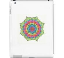 Mandala Drawing #3 Original Design by TAM iPad Case/Skin