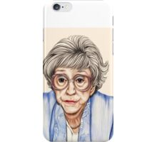 Strong women characters of Coronation Street - Blanche Hunt. 1202 views 13th June 2012 iPhone Case/Skin