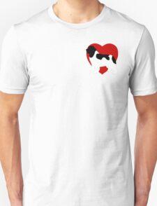 Landseer Newfoundland Dog Love Unisex T-Shirt