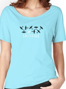 The Spitfire - RAF World War Two fighter plane Women's Relaxed Fit T-Shirt
