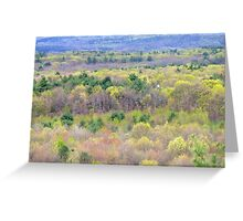 Spring in Pennsylvania  Greeting Card