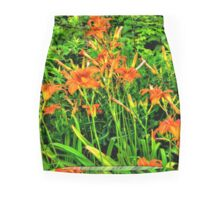 Tigers In Our Field Mini Skirt