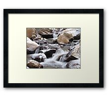 Horseshoe Park Cascades Framed Print