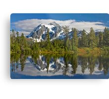 Mt. Shuksan Reflection Metal Print