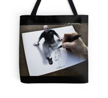 Im not a bad guy, im just drawn that way Tote Bag
