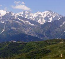 Col du Joly (Mont Blanc) Sticker