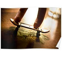 Fingerboarding It Up Poster