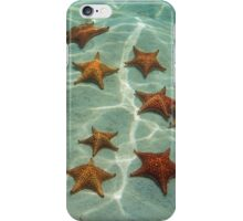 Starfishes on sand underwater iPhone Case/Skin