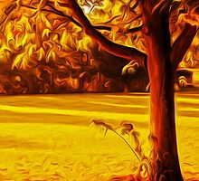 Yellow Autumn by Tr0y