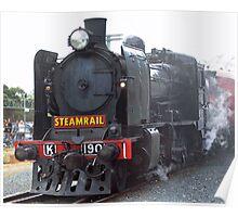 Steam Rail Poster