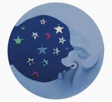 Sequin Moon Baby Tee