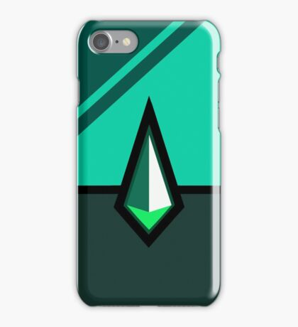 Gotta Catch '(G)em All (Malachite Design) iPhone Case/Skin