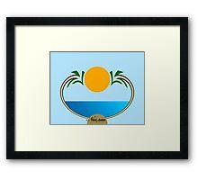 Nassau Bahamas iPhone / Samsung Galaxy Case Framed Print